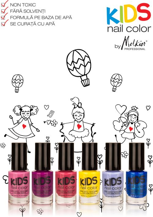 New: Kids Nail Color by Melkior