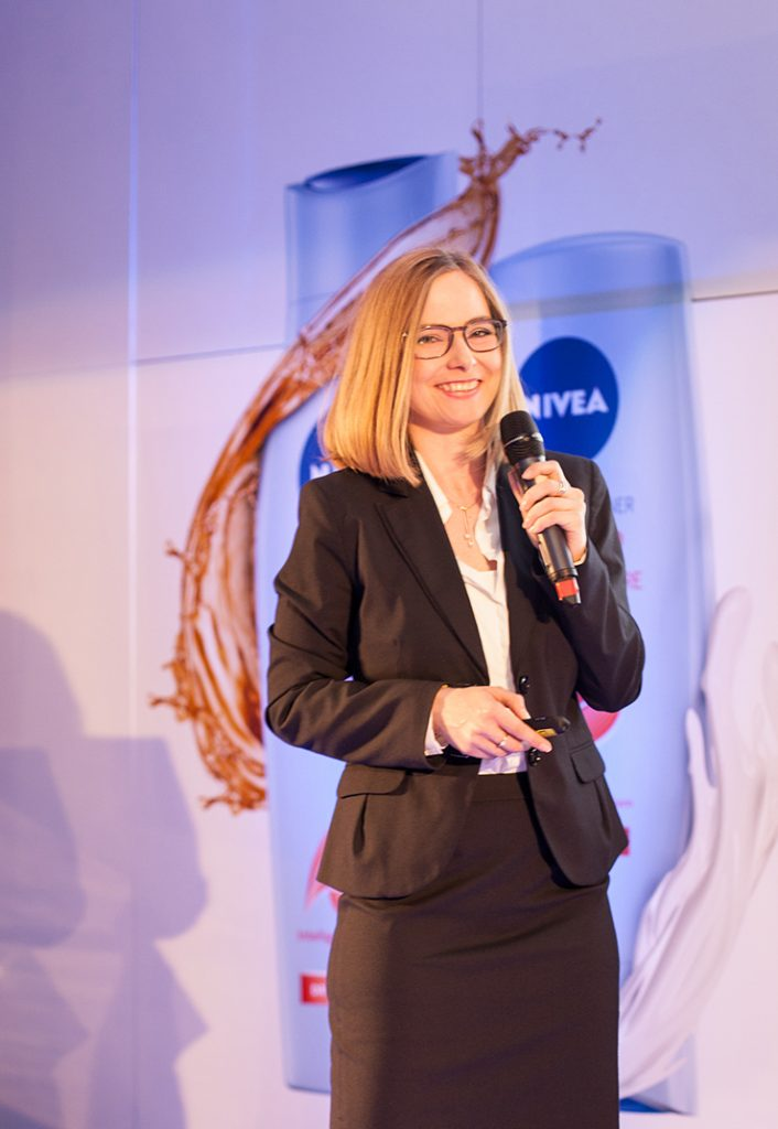 Nathalie Sors - Director de cercetare în cadrul Beiersdorf Research  Development Institute