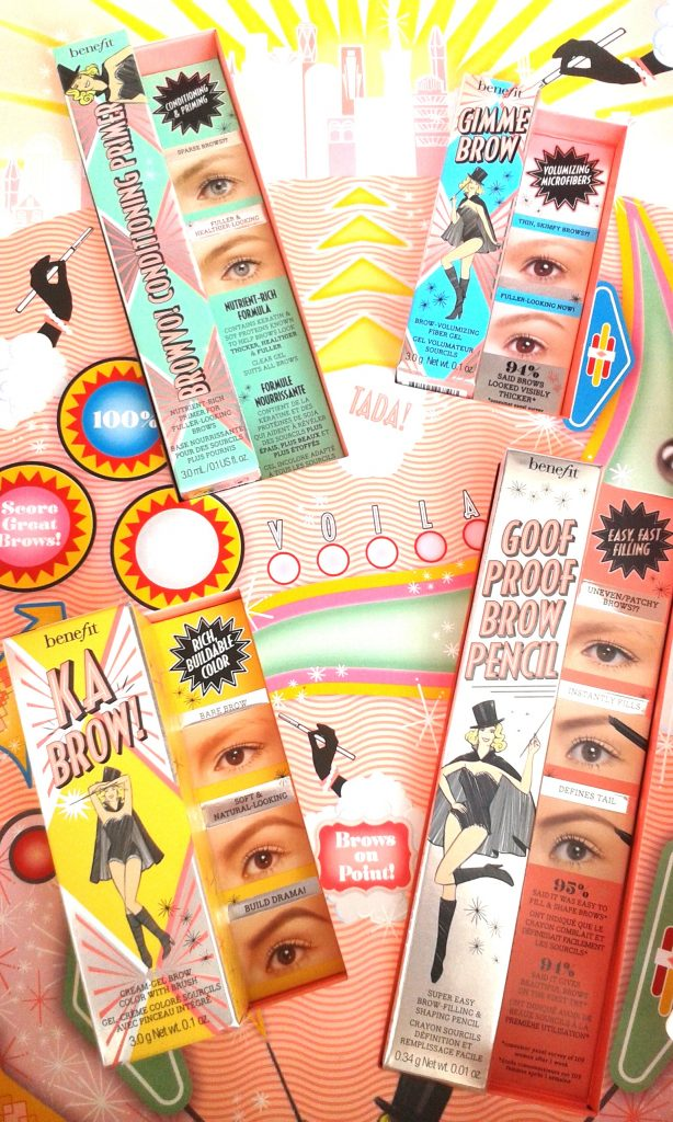Brow Collection benefit