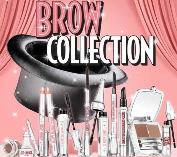 Benefit New Brow Collection, magie pentru sprâncene fără cusur