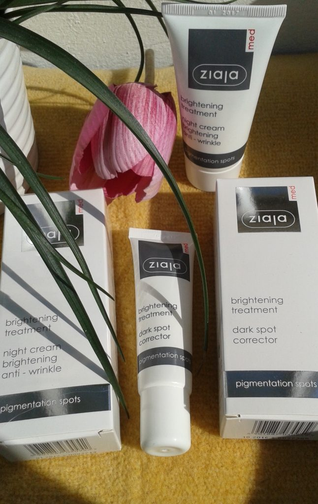 Ziaja brightening treatment