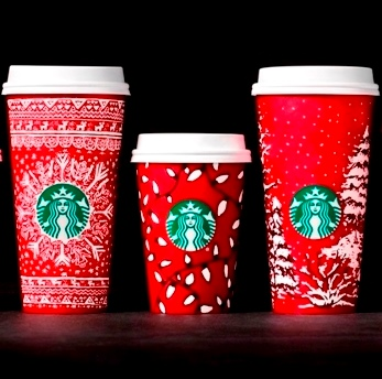Starbucks Red Cups Craciun