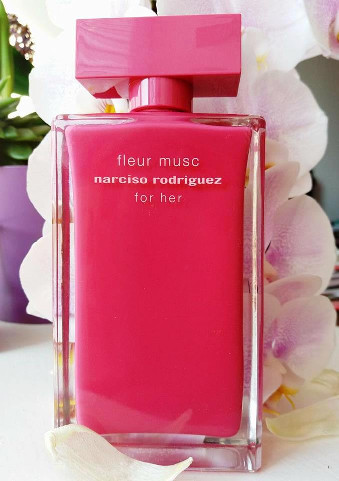 Narciso Rodriquez for her fleur musc