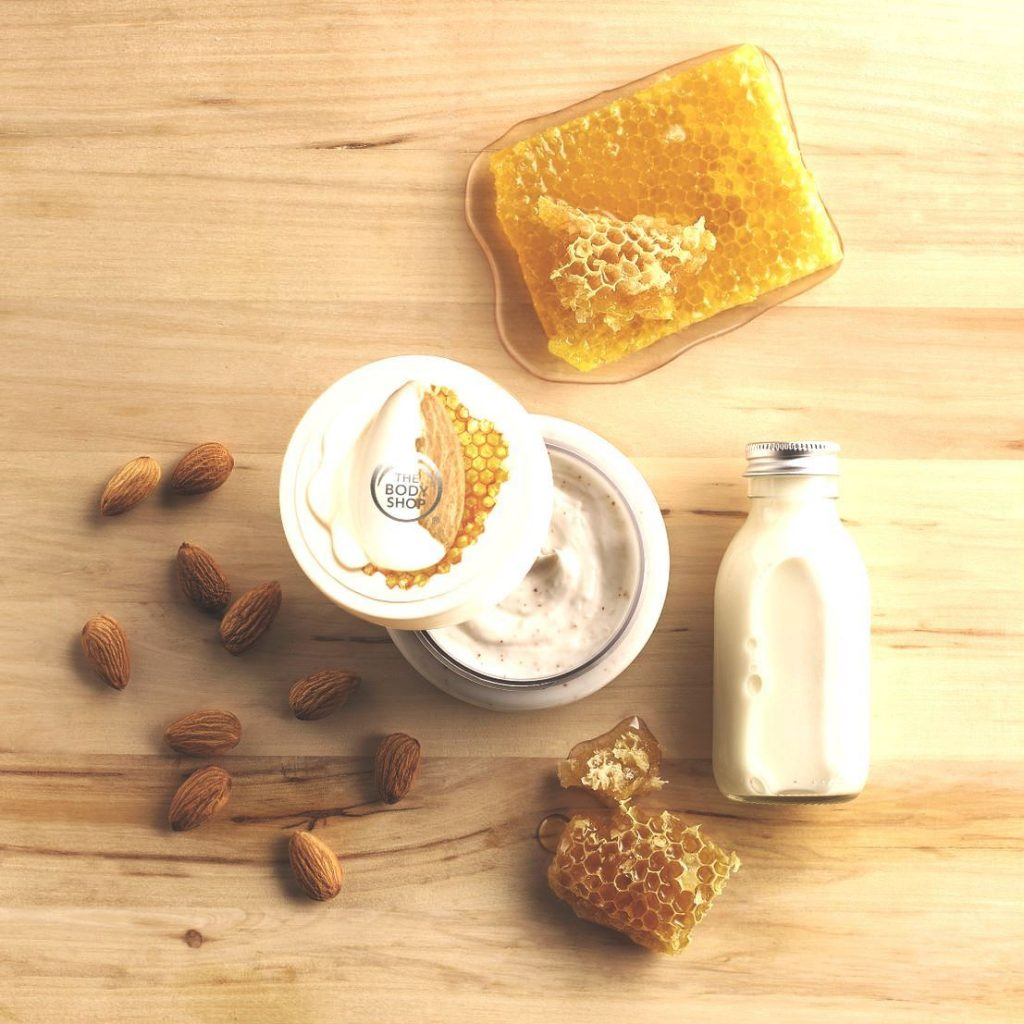 Almond Milk and Honey Body Scrub