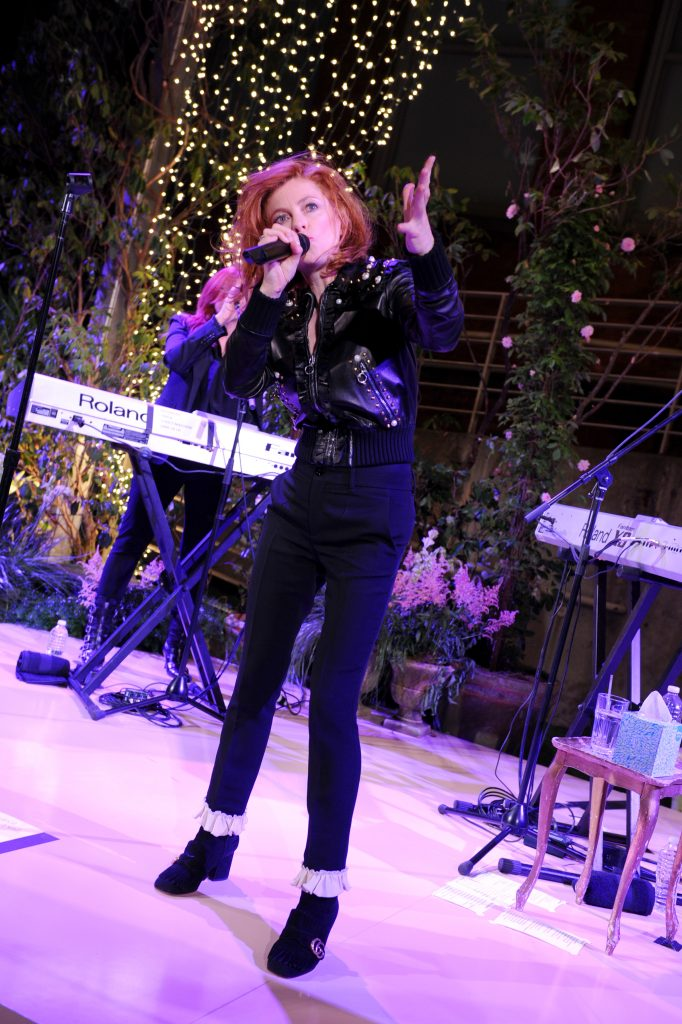 NEW YORK, NY - MAY 02: Goldfrapp performs onstage at the Gucci Bloom, Fragrance Launch at MoMA PS.1 on May 2, 2017 in New York City. (Photo by Craig Barritt/Getty Images for Gucci)