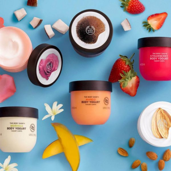 Body Yogurts, hidratare de vară de la The Body Shop